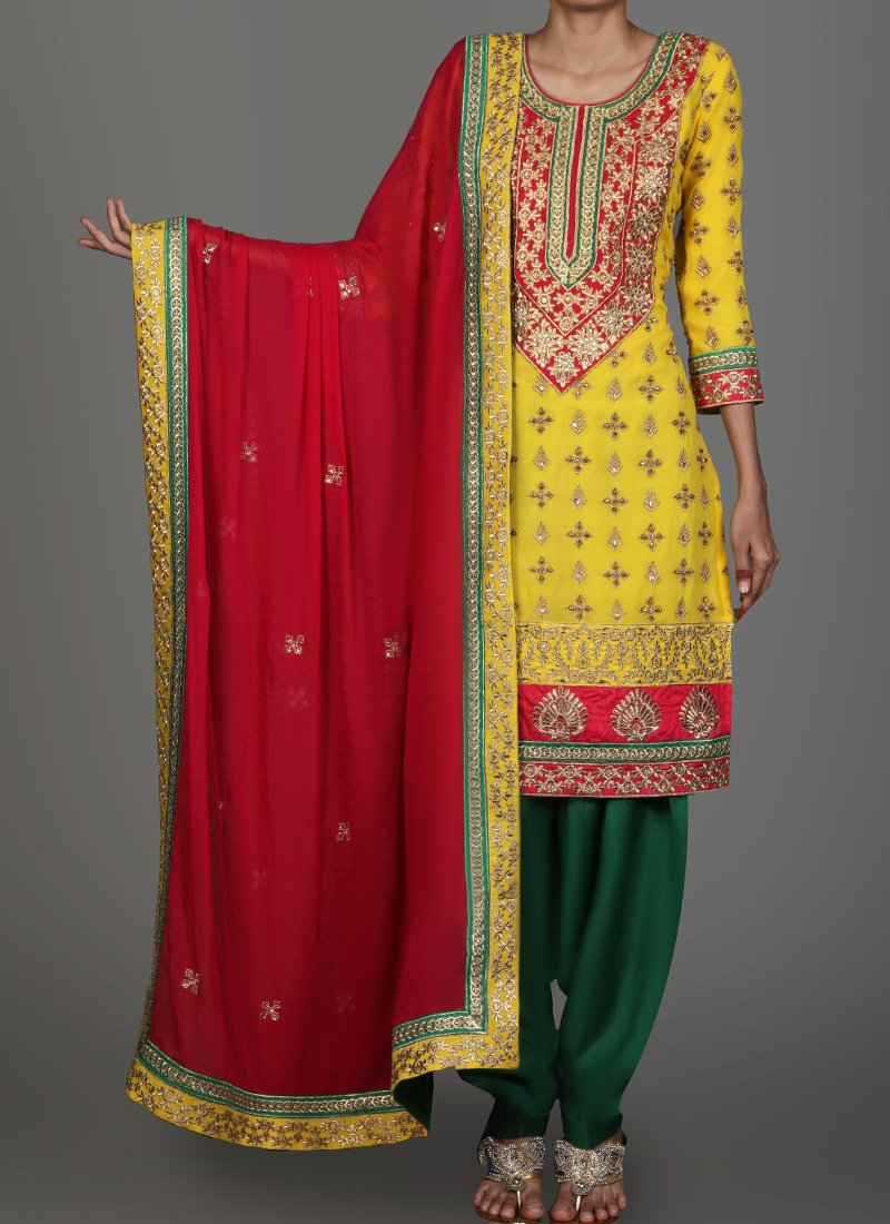 Punjabi Suit Color Combinations
