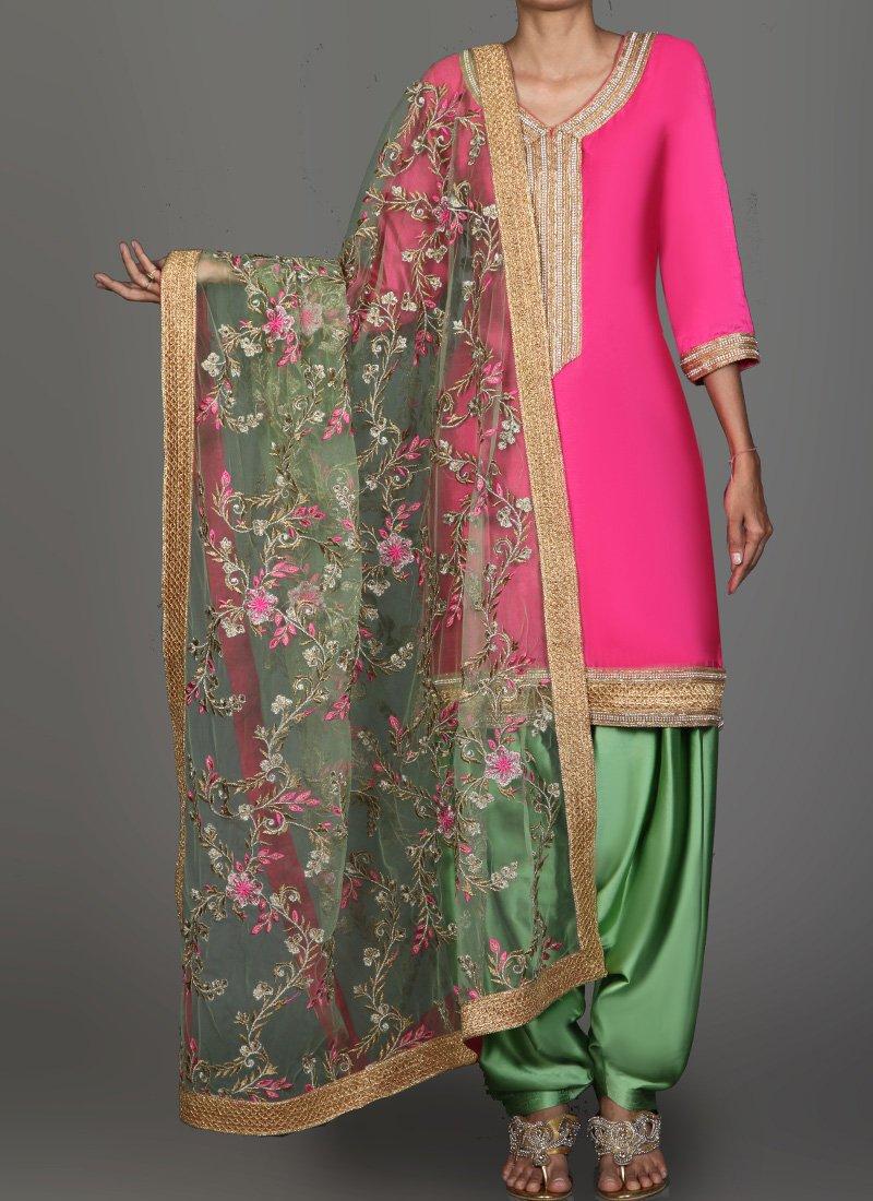 Punjabi Suit Color Combinations