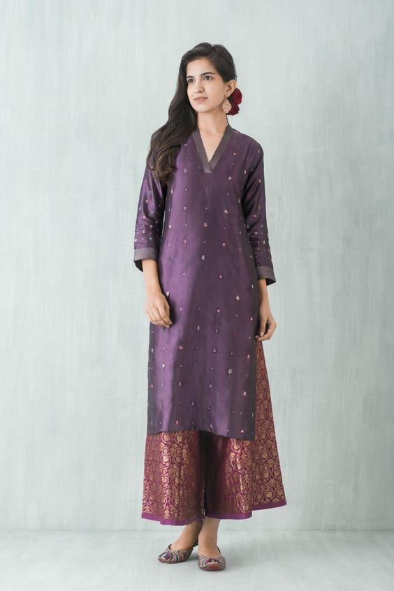 salwar suits from sarees