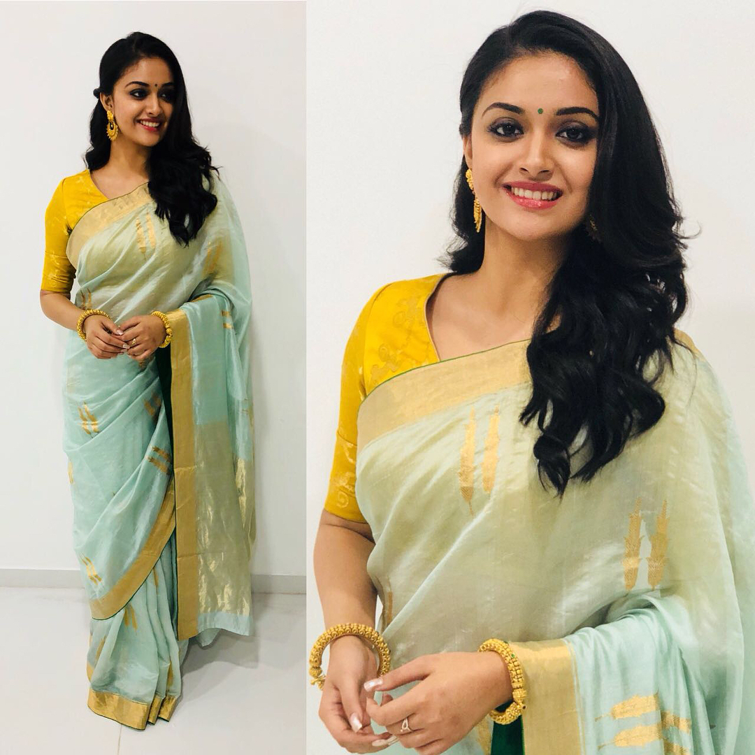 silk saree color combination for 2018