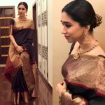13 Chic Party Wear Black Saree Designs/Ideas To Shop
