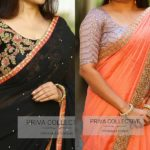 16 Awesome Ways To Wear Plain Sarees With Heavy Blouse