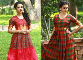 Traditional South Indian Style Maxi Dresses