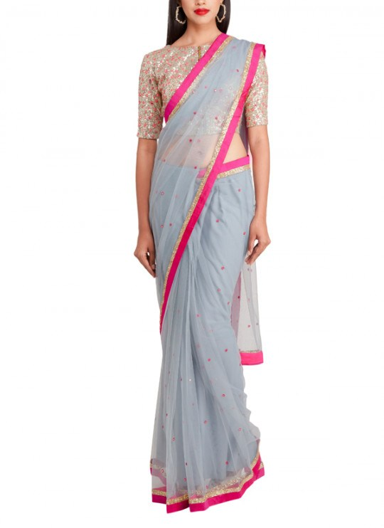 Designer Blouses For Net Sarees