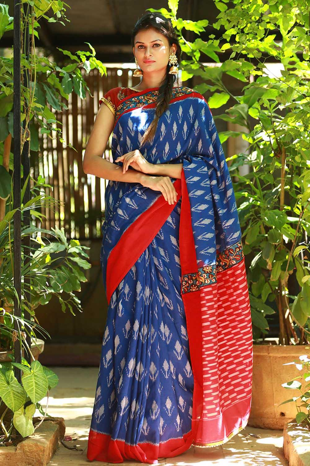 Cotton Ikat Sarees