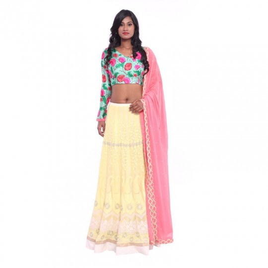 19 Trendy Full Sleeve Blouse Designs For Lehenga Keep Me Stylish