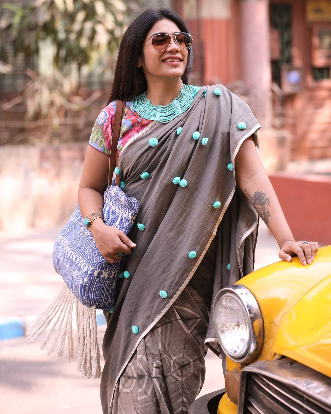 Instagram Fashion Blogger in India For Sarees