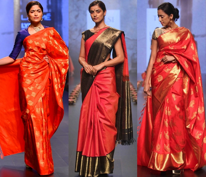 Red Sarees For Weddings