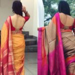 14 Sassy Deep Back Neck Blouse Designs For Sarees