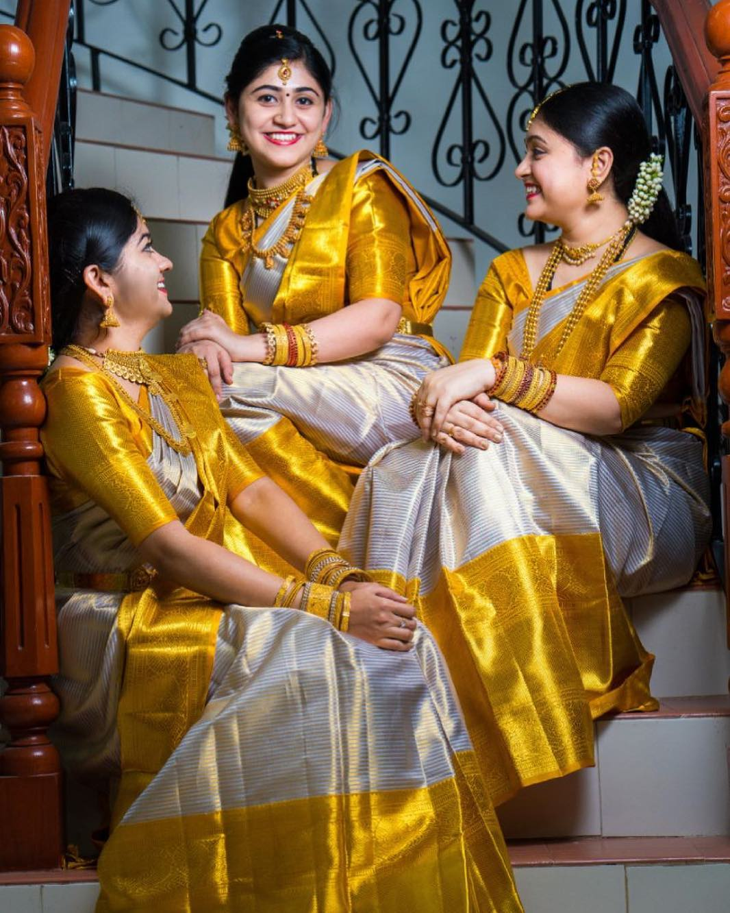 Designer silk saree designs