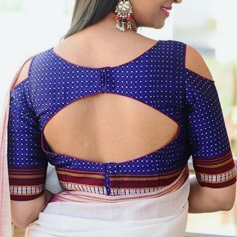 Saree Blouse Sleeve Designs