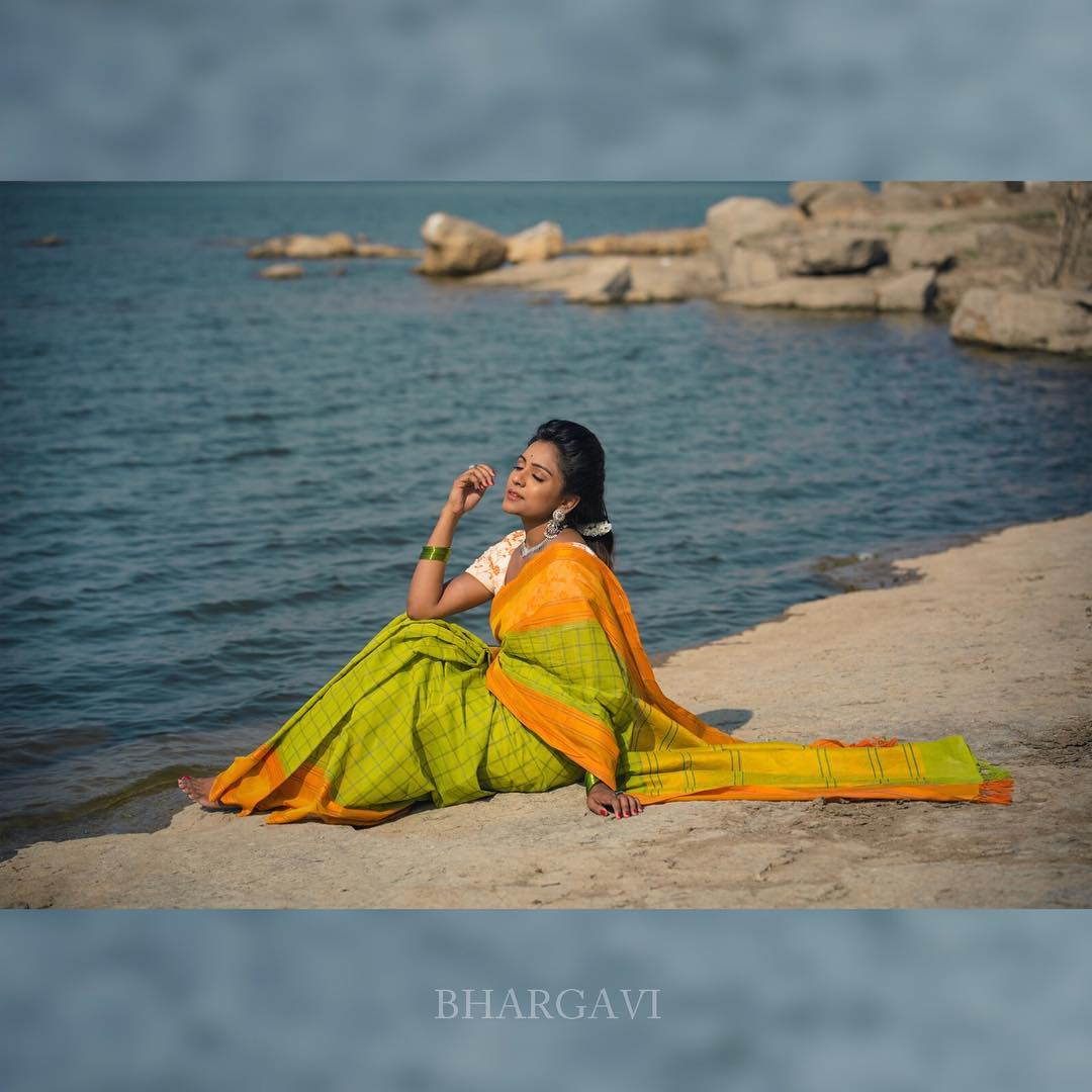 Bhargavi Kunam Sarees