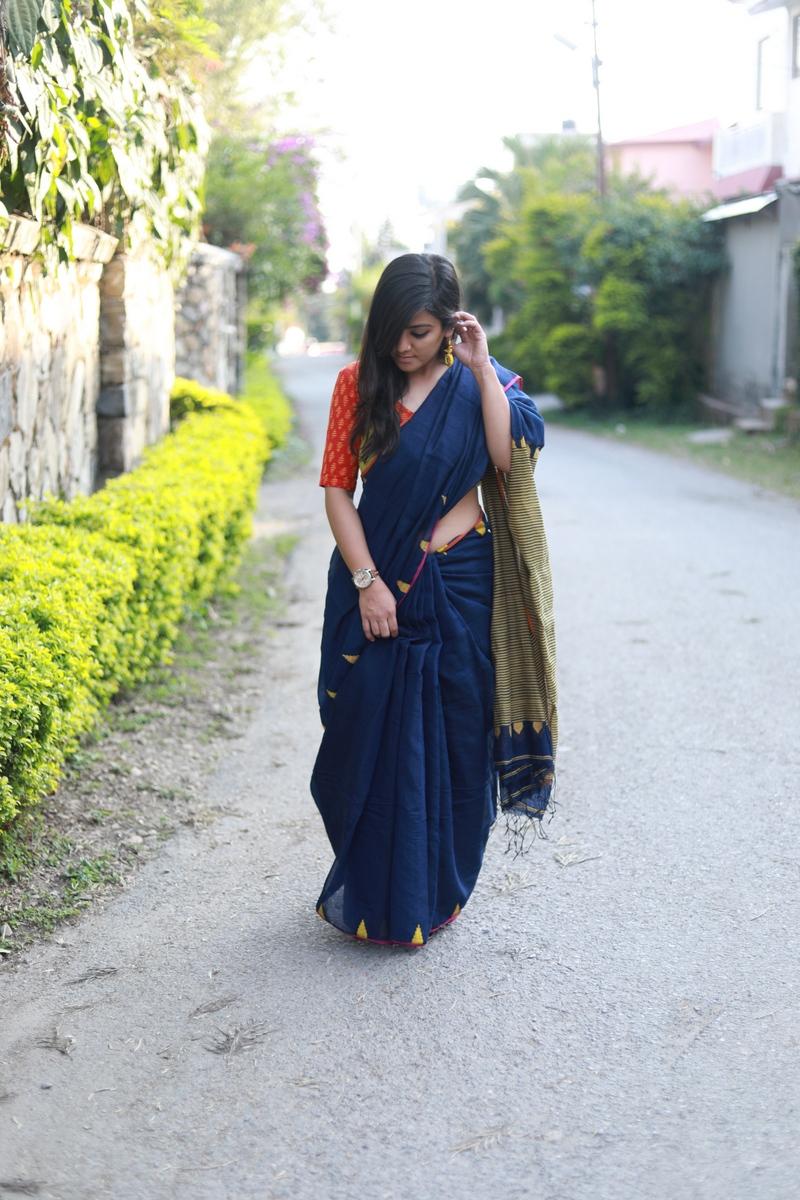Handloom sarees from Hathkargha