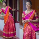Silk Half Saree Designs & Dressing Tips