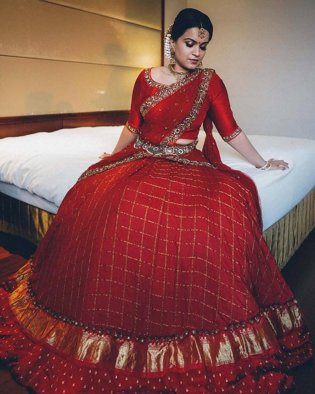 silk half sarees