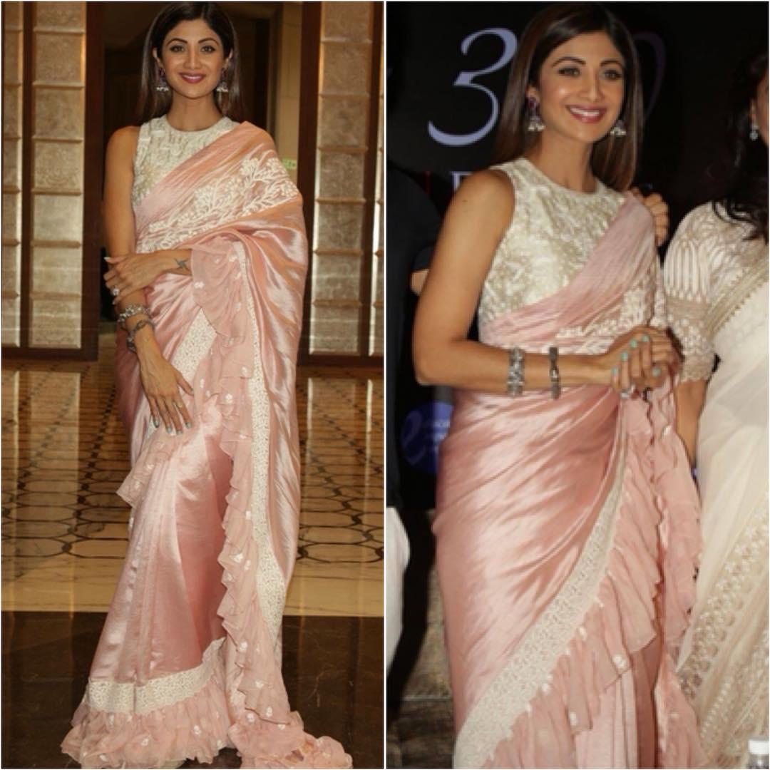 Modern saree designs