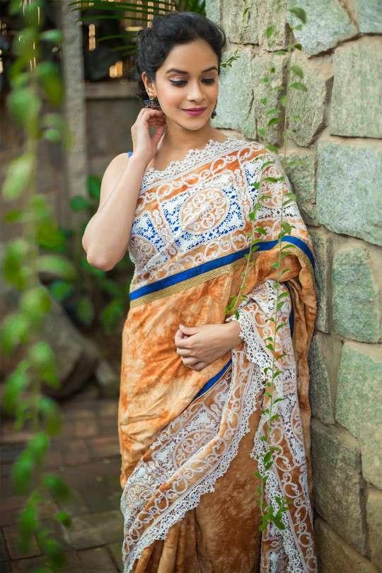 shibori sarees