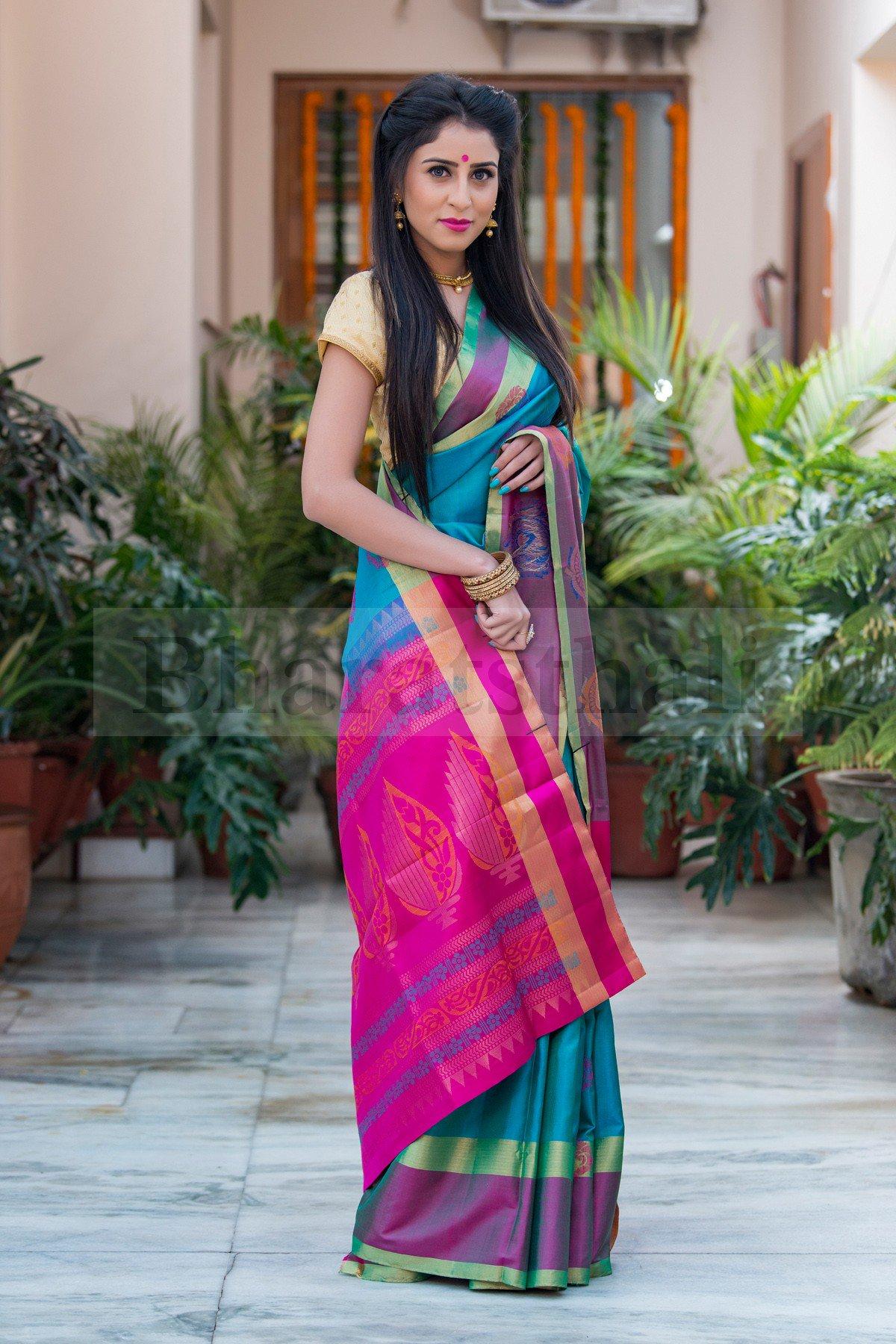 Soft Kanchi Silk Sarees