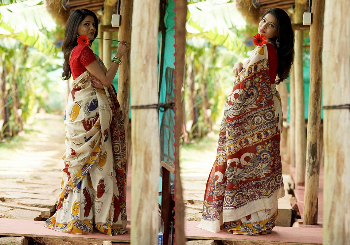 Designer Kalakari Sarees