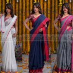 Super Soft Linen Sarees That You Can Wear Everyday in Summer