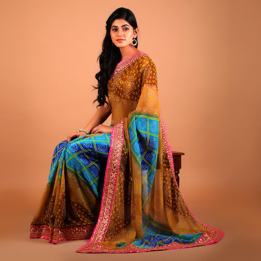 north indian style sarees