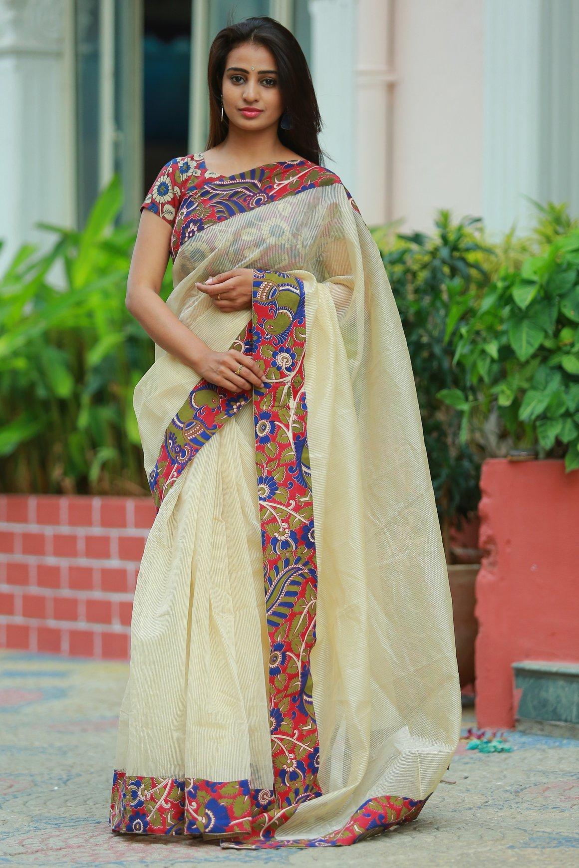 patch work sarees