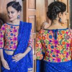 11 Chic Waist Length Saree Blouse Designs & Ideas