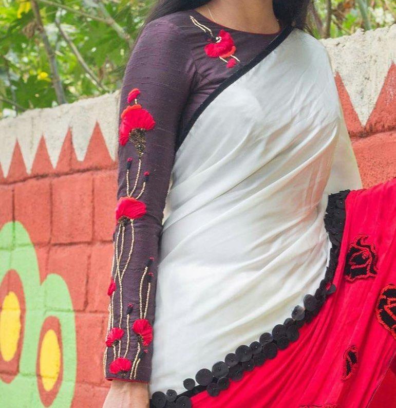 blouse hand designs