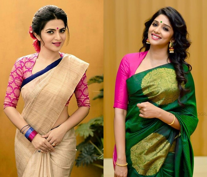 Stand Collar Blouse Designs : Incredible collar blouse designs you can wear with any saree