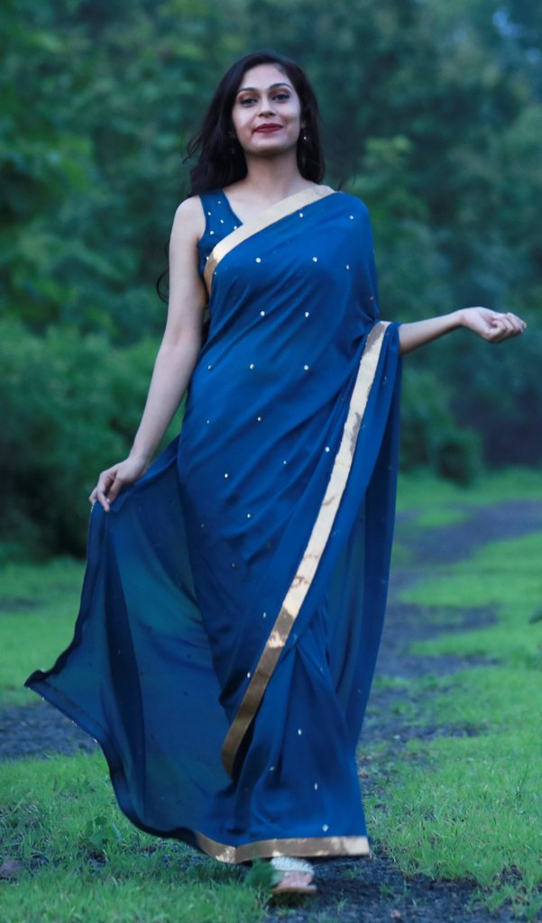 designer sarees from east and grace