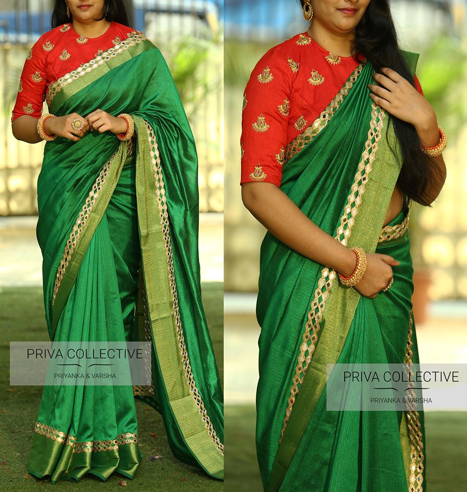 32eb2f508b62c 12 High Neck Blouse Designs You Should Consider For Silk Sarees ...