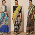 Shop Kalamkari Sarees