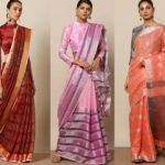 Shop : Linen Sarees