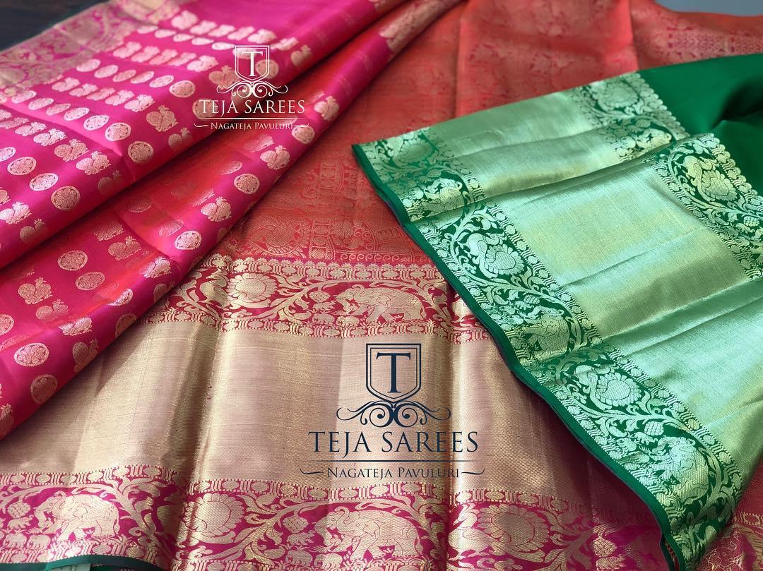 big border silk sarees