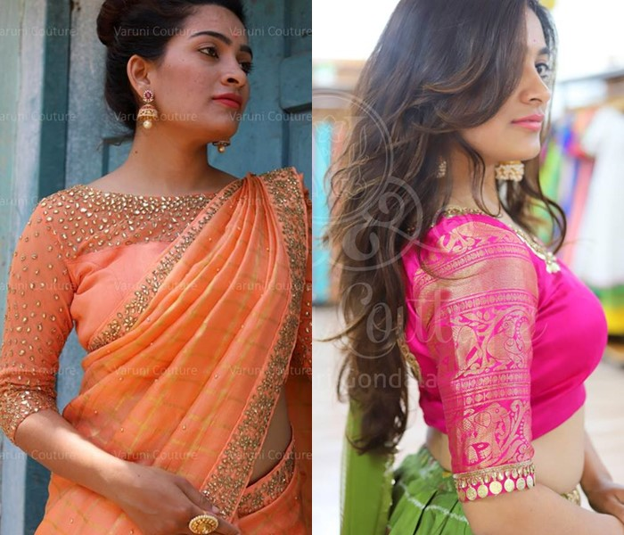 desigenr blouses for silk sarees featured image