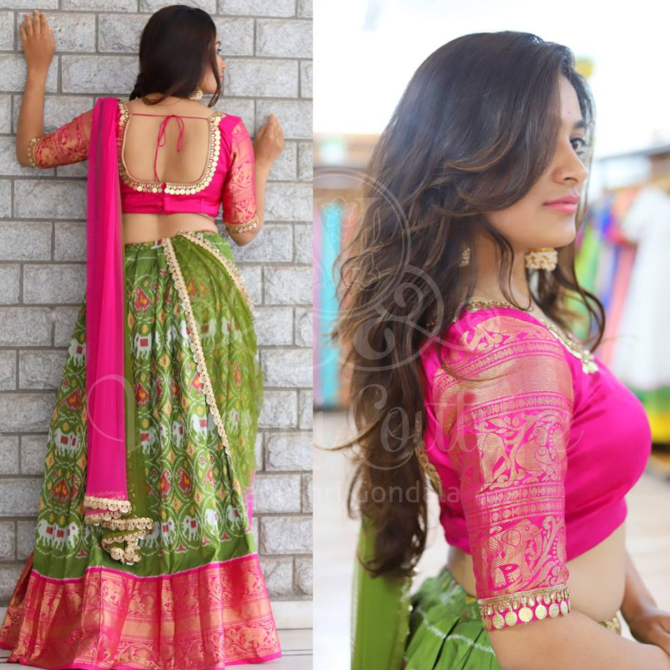 desigenr blouses for silk sarees