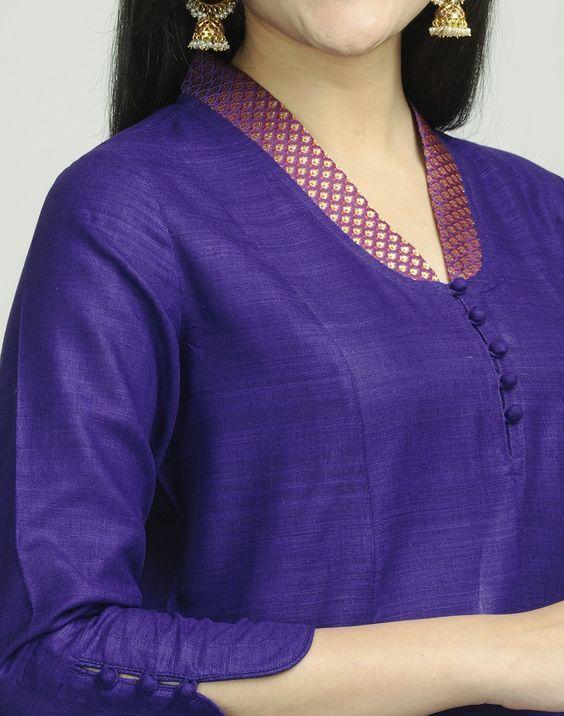 neck designs for kurtis
