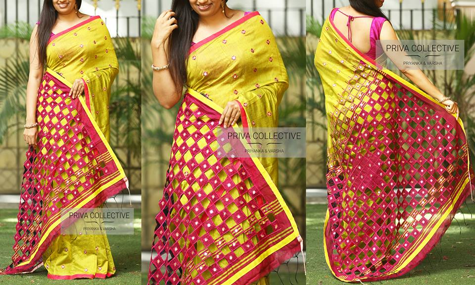 party wear sarees 2018