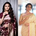 Pretty Saree Inspirations From Keerthy Suresh
