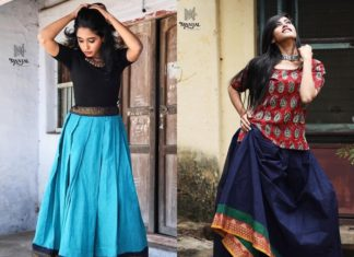 traditional skirts and tops