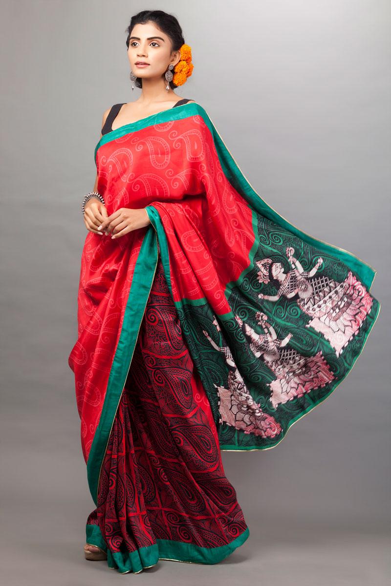 statement sarees