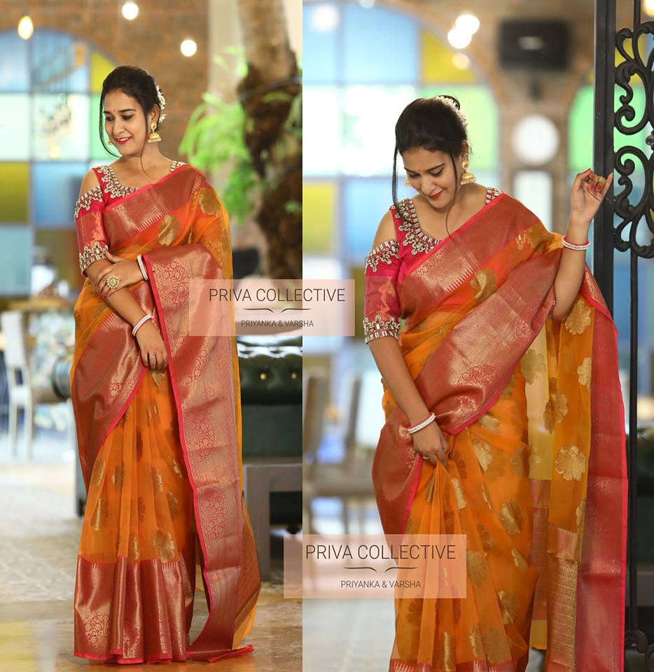 a4a60f8b6b Photo : Priva Collective big-bold-border-silk-sarees-shop-online (3)