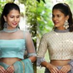 Ultra Chic Blouses For Party Wear Sarees
