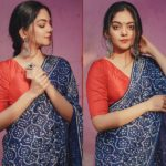 The Ultimate Way To Flaunt A Indigo Saree