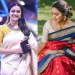 The Trend of Wearing Sarees With Mismatched Blouses