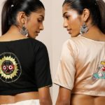 Shop : 23 Blouses With Ultra Cool Back Designs!