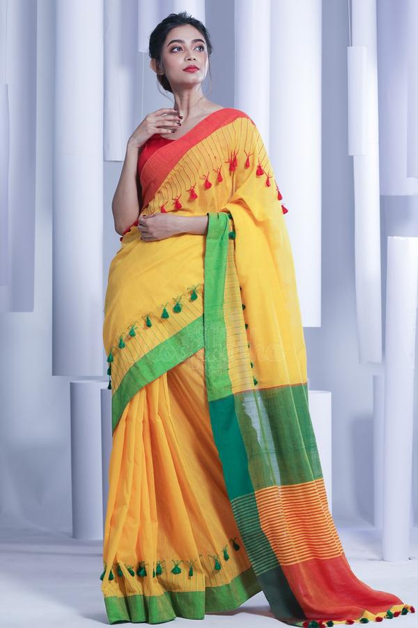 pom-pom-saree-designs-2019 (11)