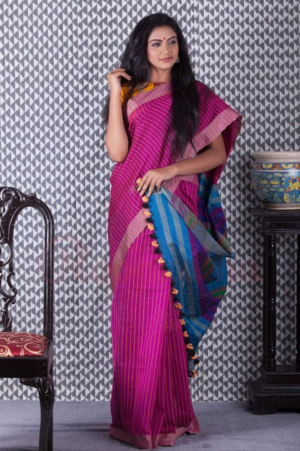 pom-pom-saree-designs-2019 (15)