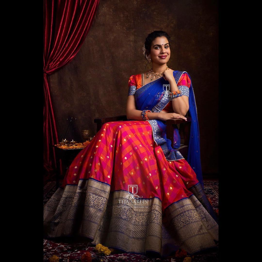 half-saree-designs-2019 (11)