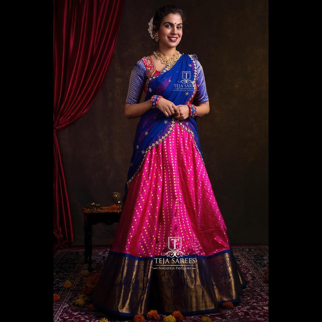 half-saree-designs-2019 (13)